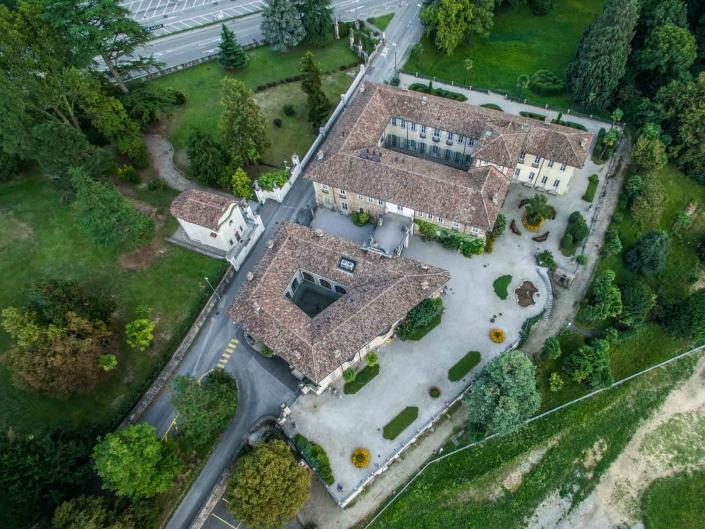 Villa Negroni 2 - fotografie con drone per settore immobiliare