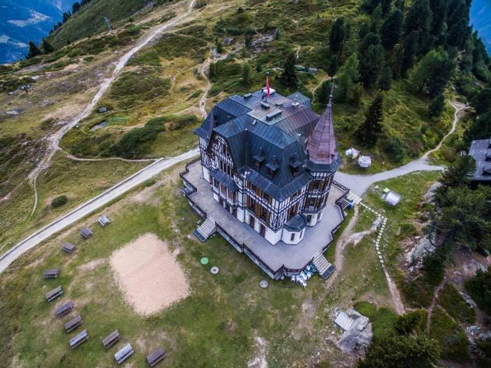 Villa Cassel 3 - fotografie con drone per settore immobiliare