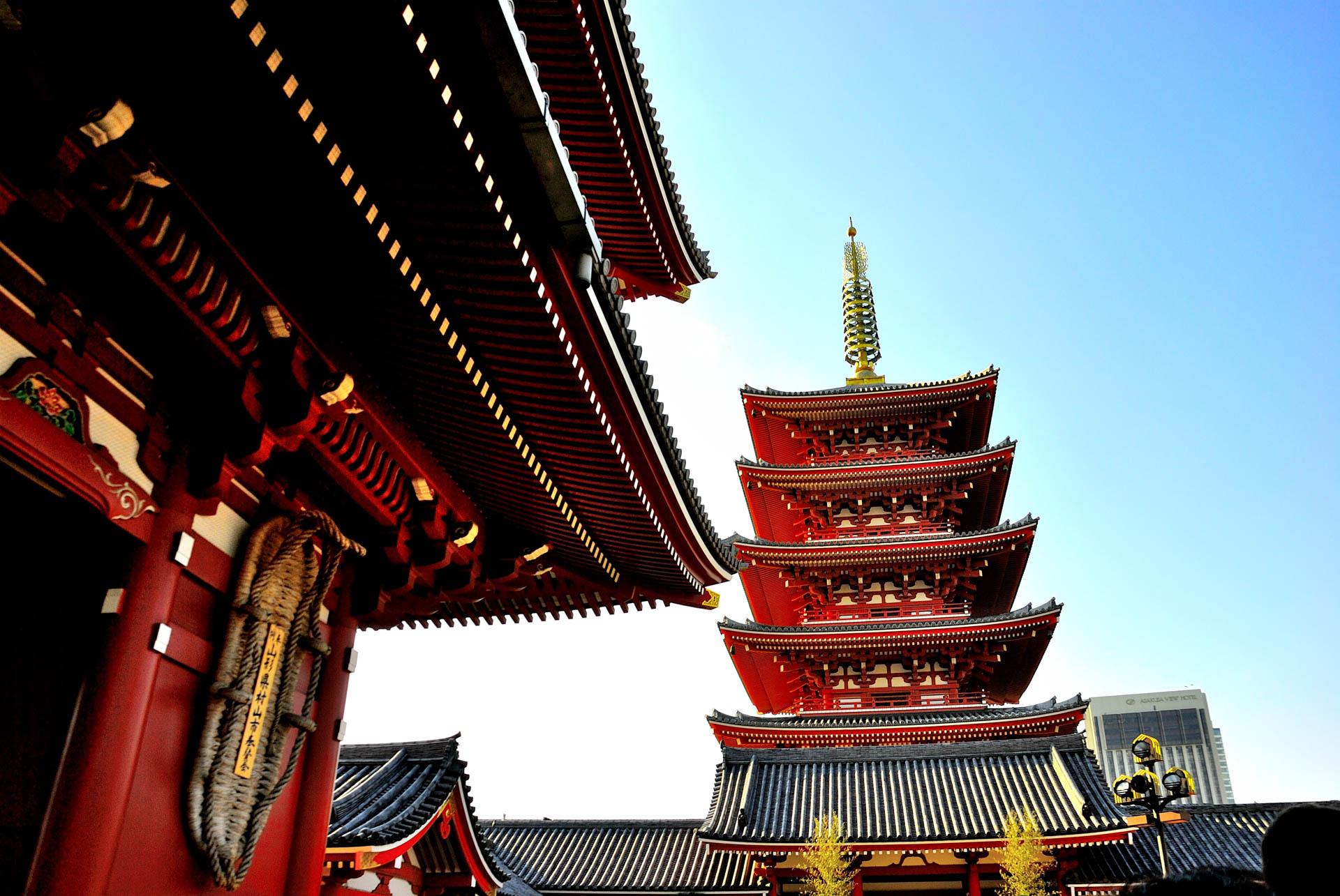 Tokyo, Japan - Asakusa Sensoji Temple