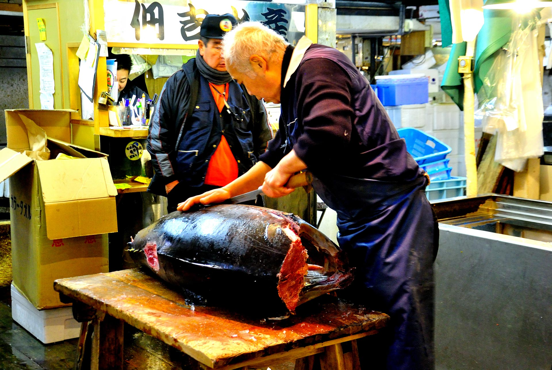 Tokyo, Japan - Fish Market