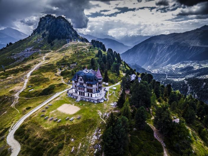 Villa Cassel FromAbove.ch