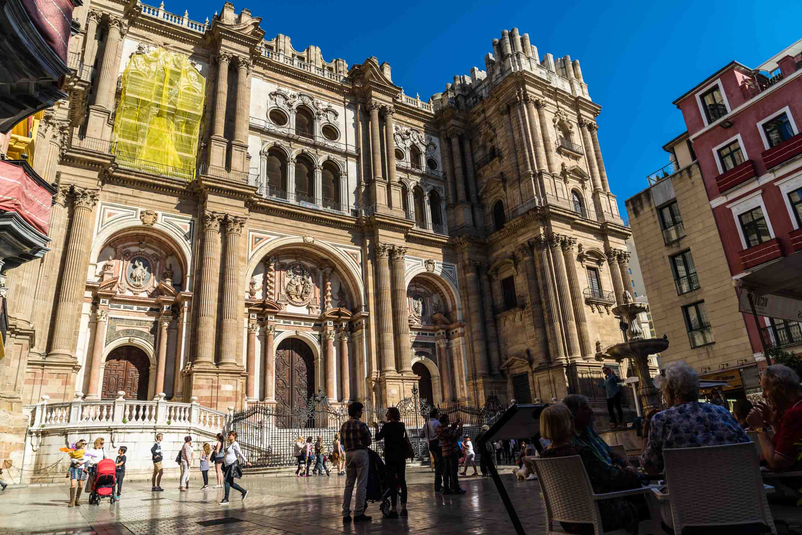 Malaga Spain - Cathedral