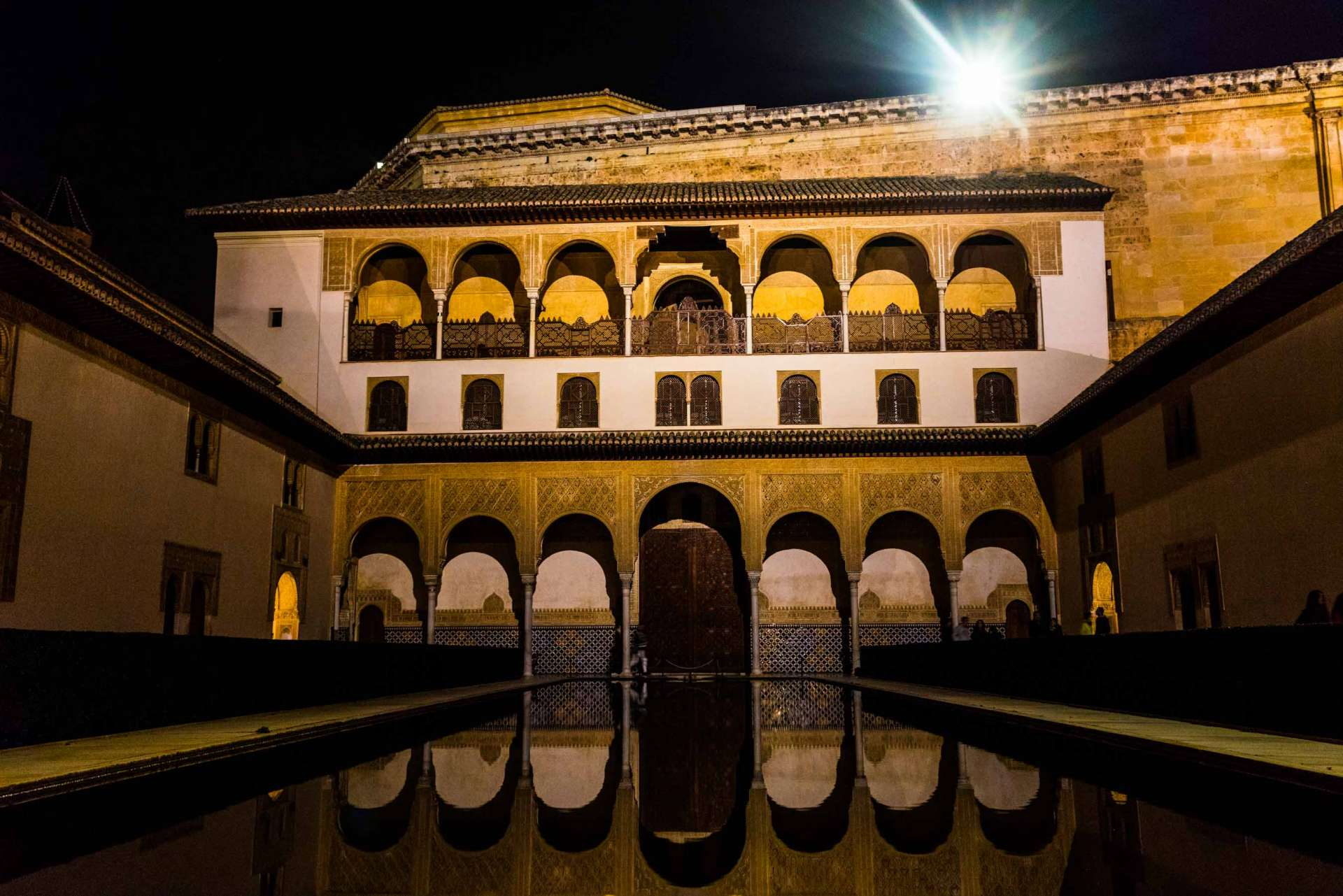 Granada Alhambra - by night