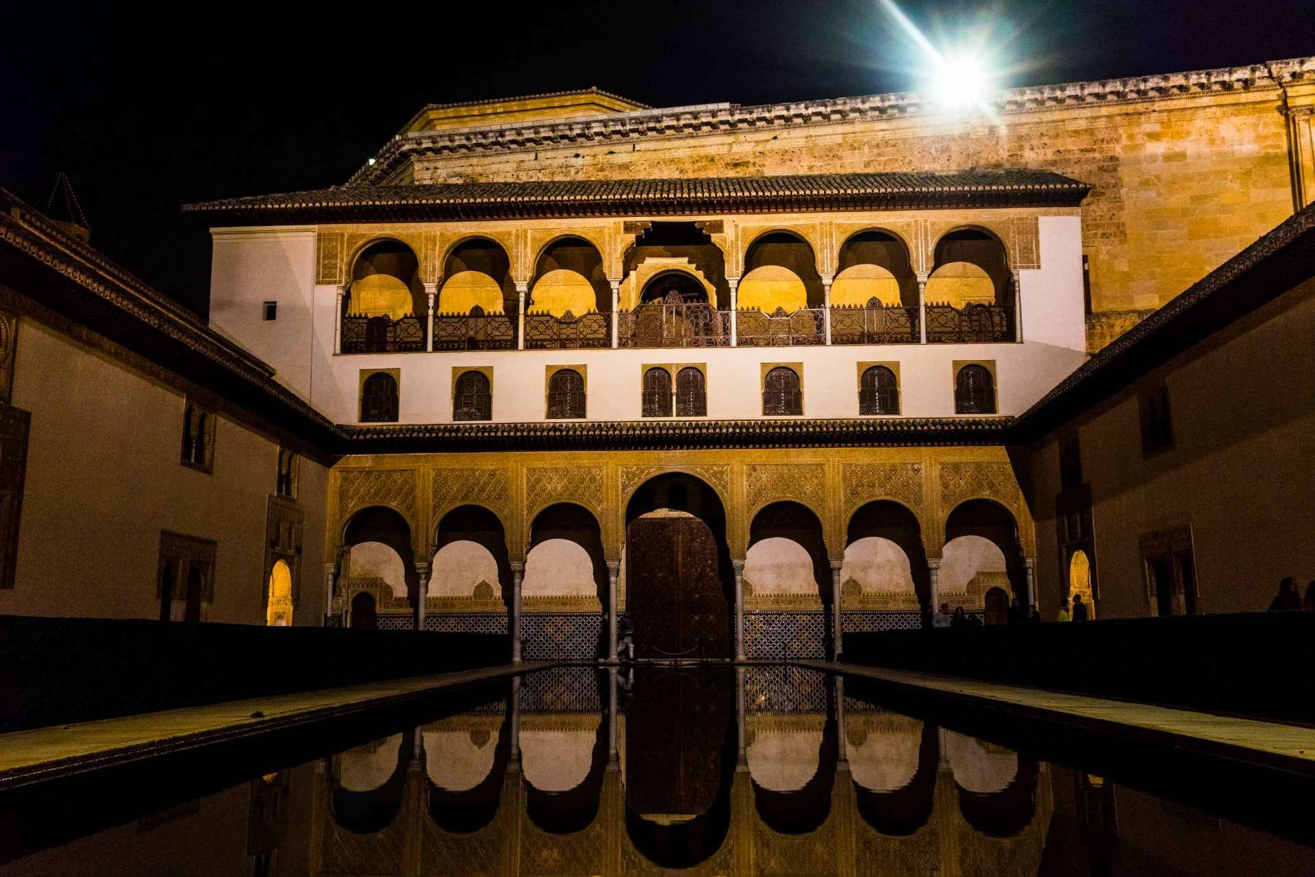 Granada Alhambra - by night