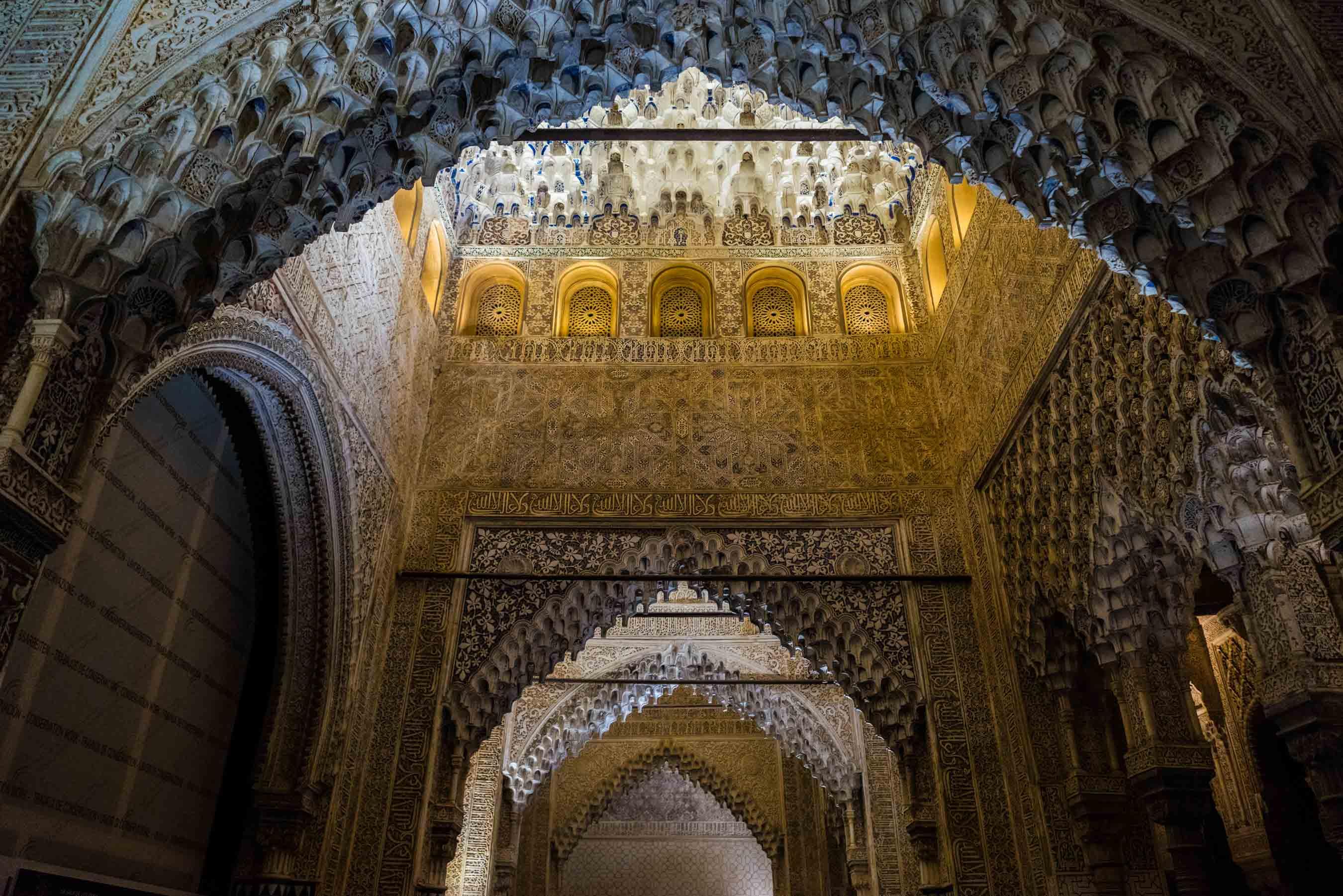 Granada Alhambra - by night details 5