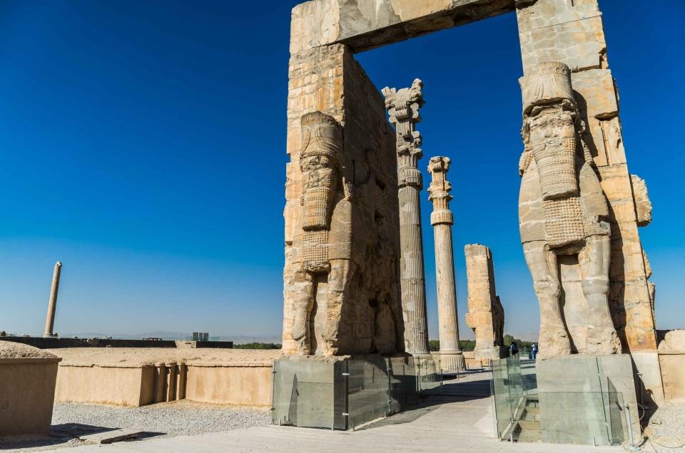 Persepolis, Iran – the ancient capital of Persia