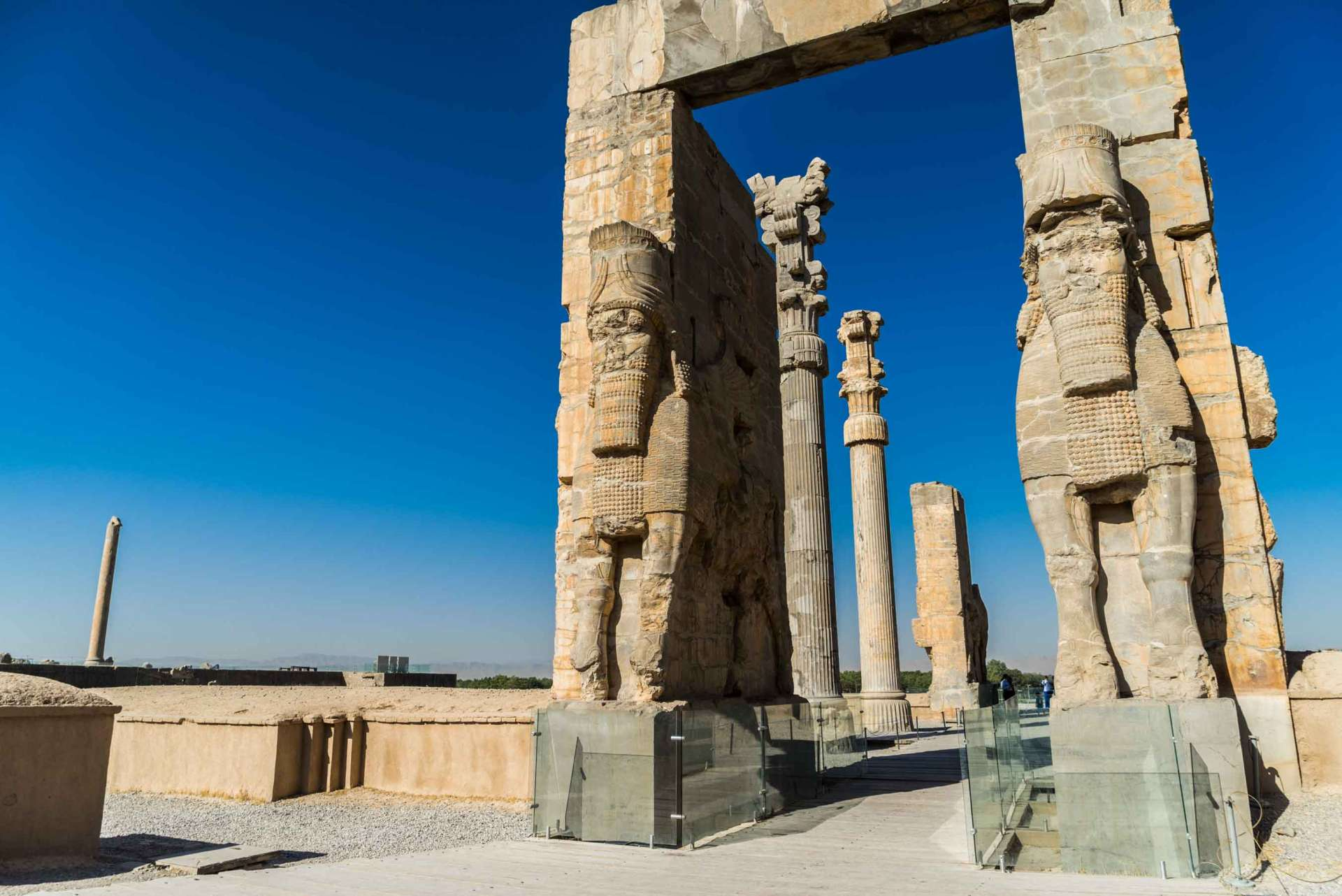Persepolis Iran - gate of all nations 3