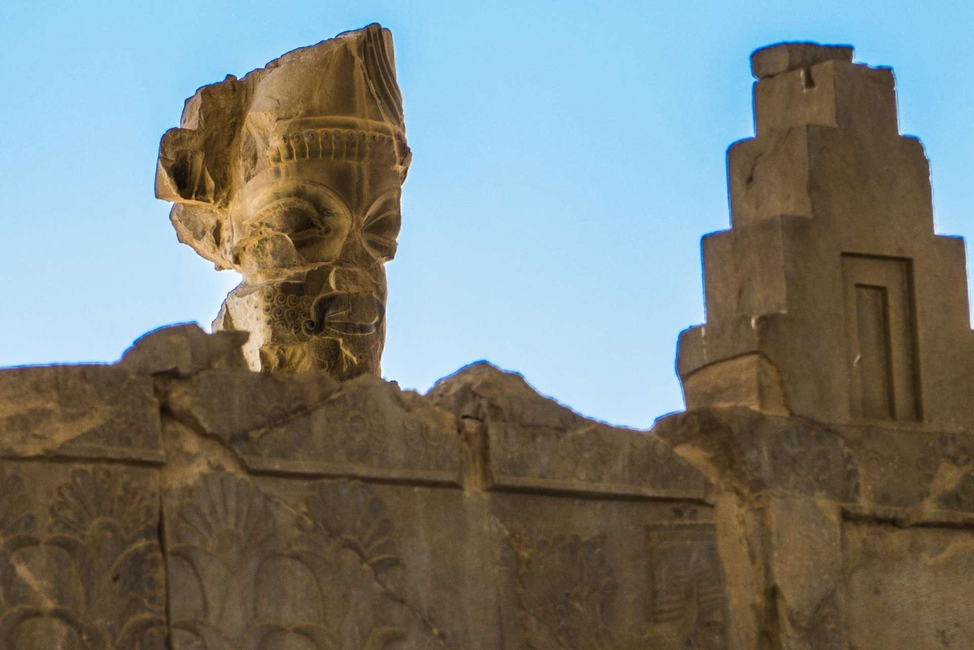 Persepolis Iran - sculpture