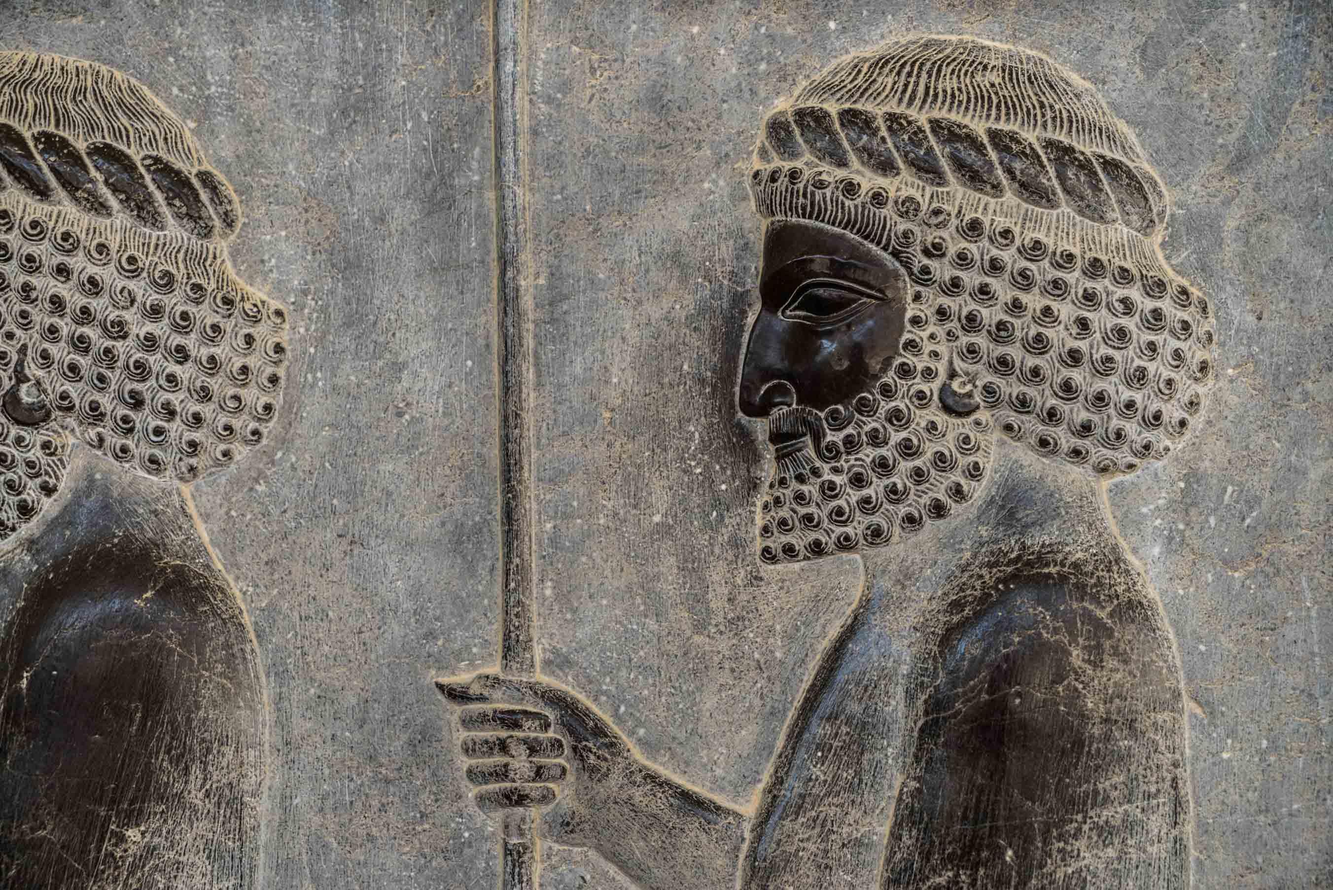 Persepolis Iran - Immortals warrior