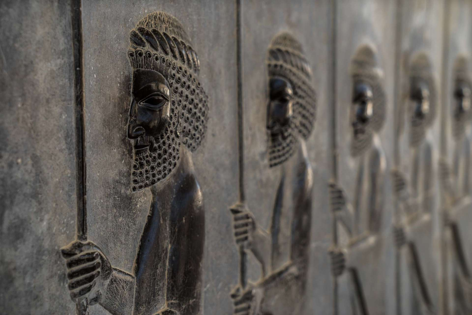 Persepolis Iran - Immortals warriors