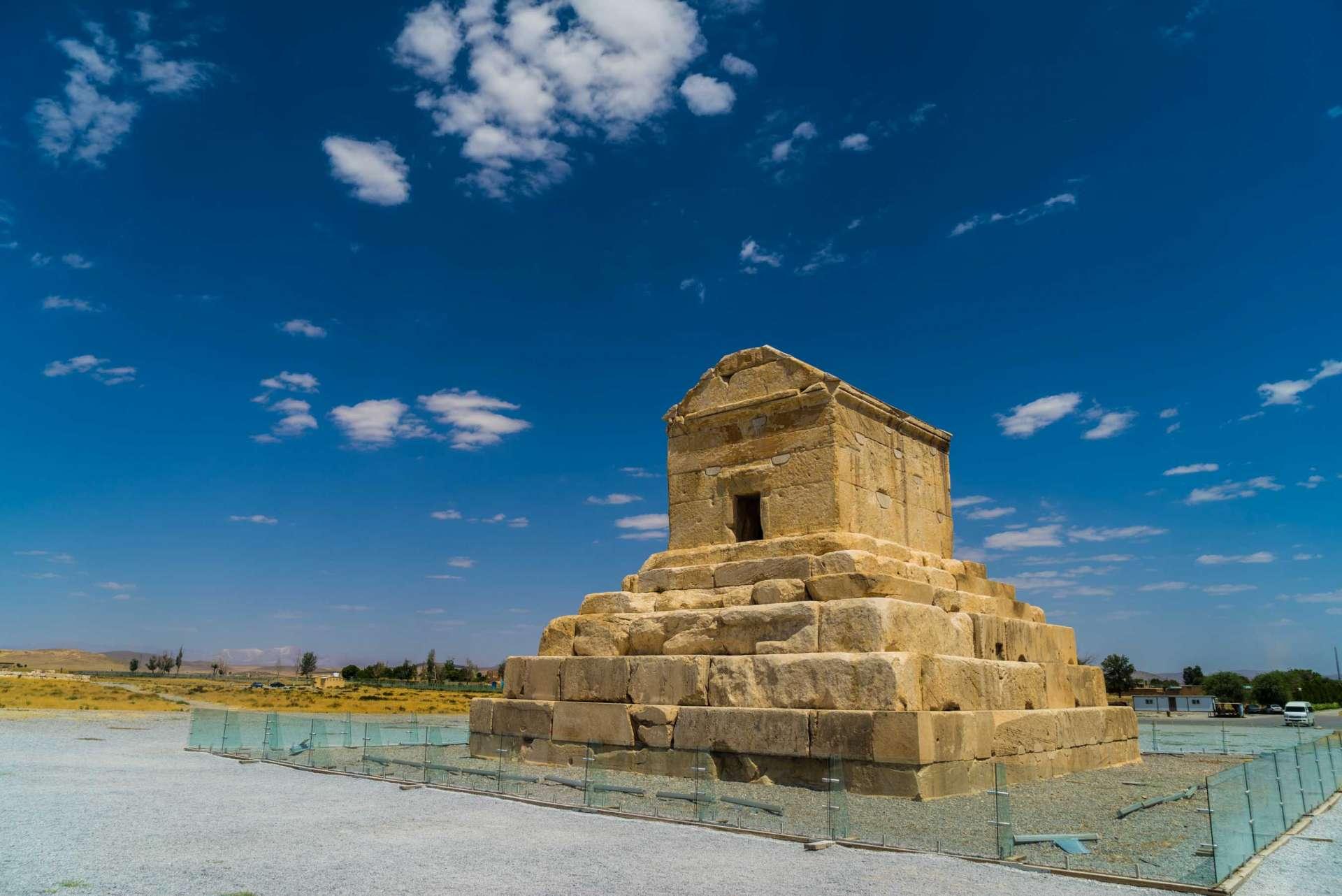 Persepolis Iran - Pasagardae Tomb of Cyrus