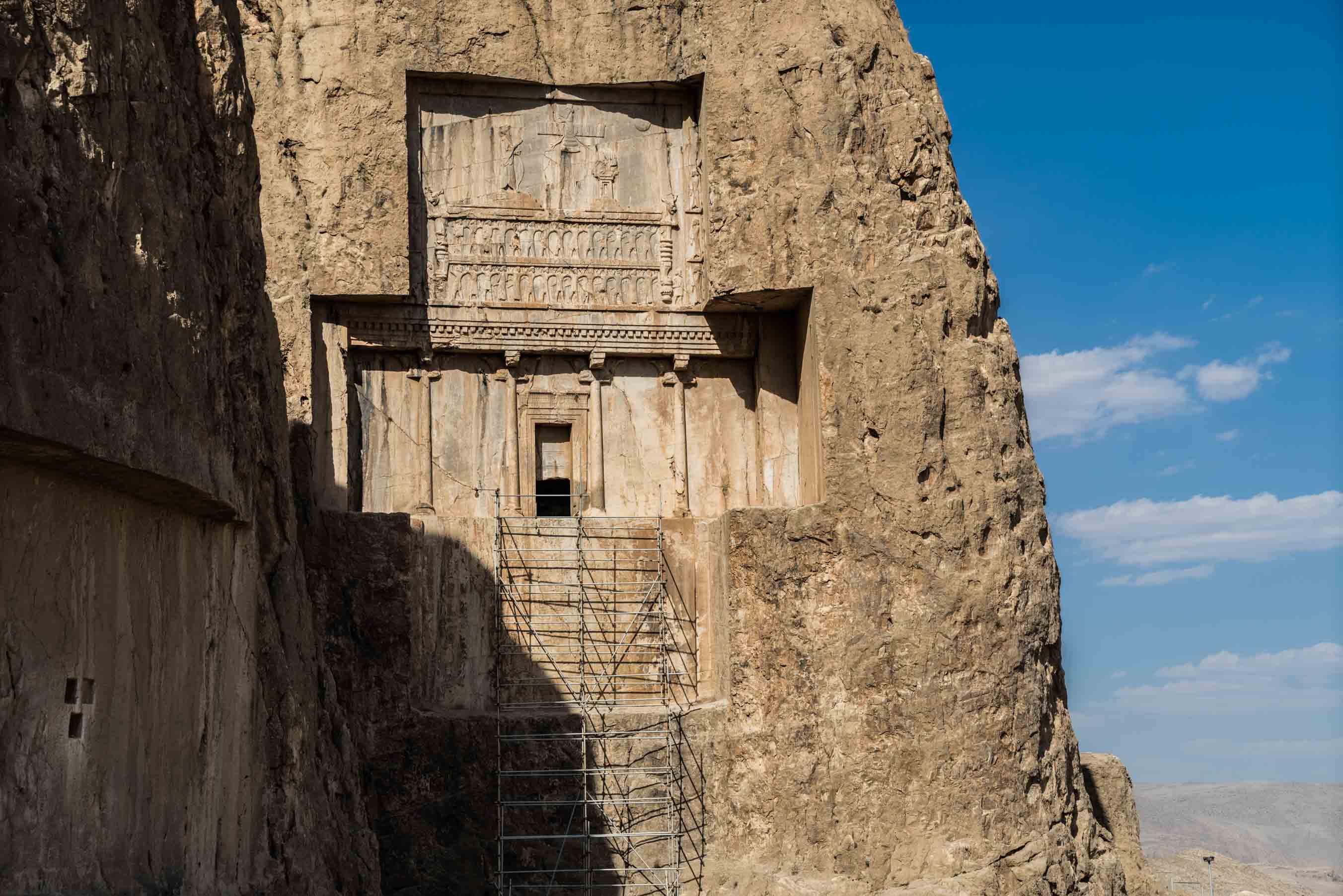Persepolis Iran . Naqsh-e Rustam