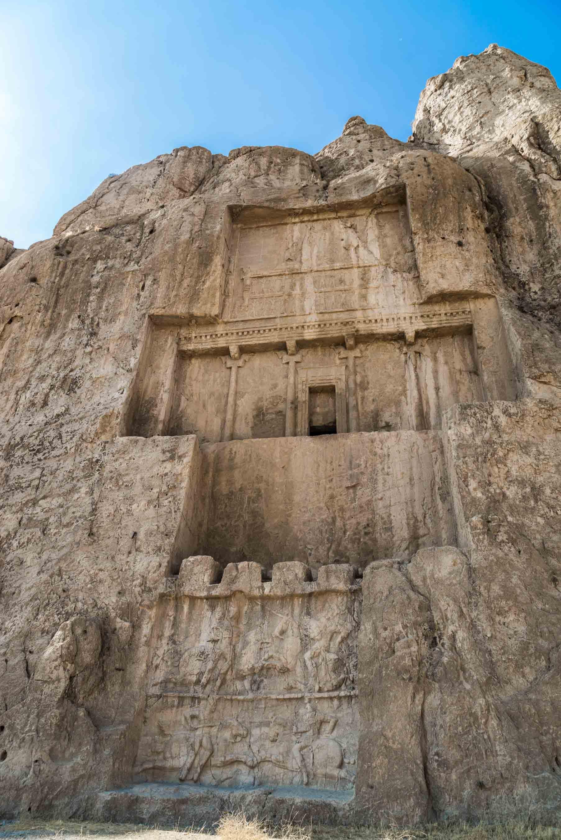 Persepolis Iran . Naqsh-e Rustam 2