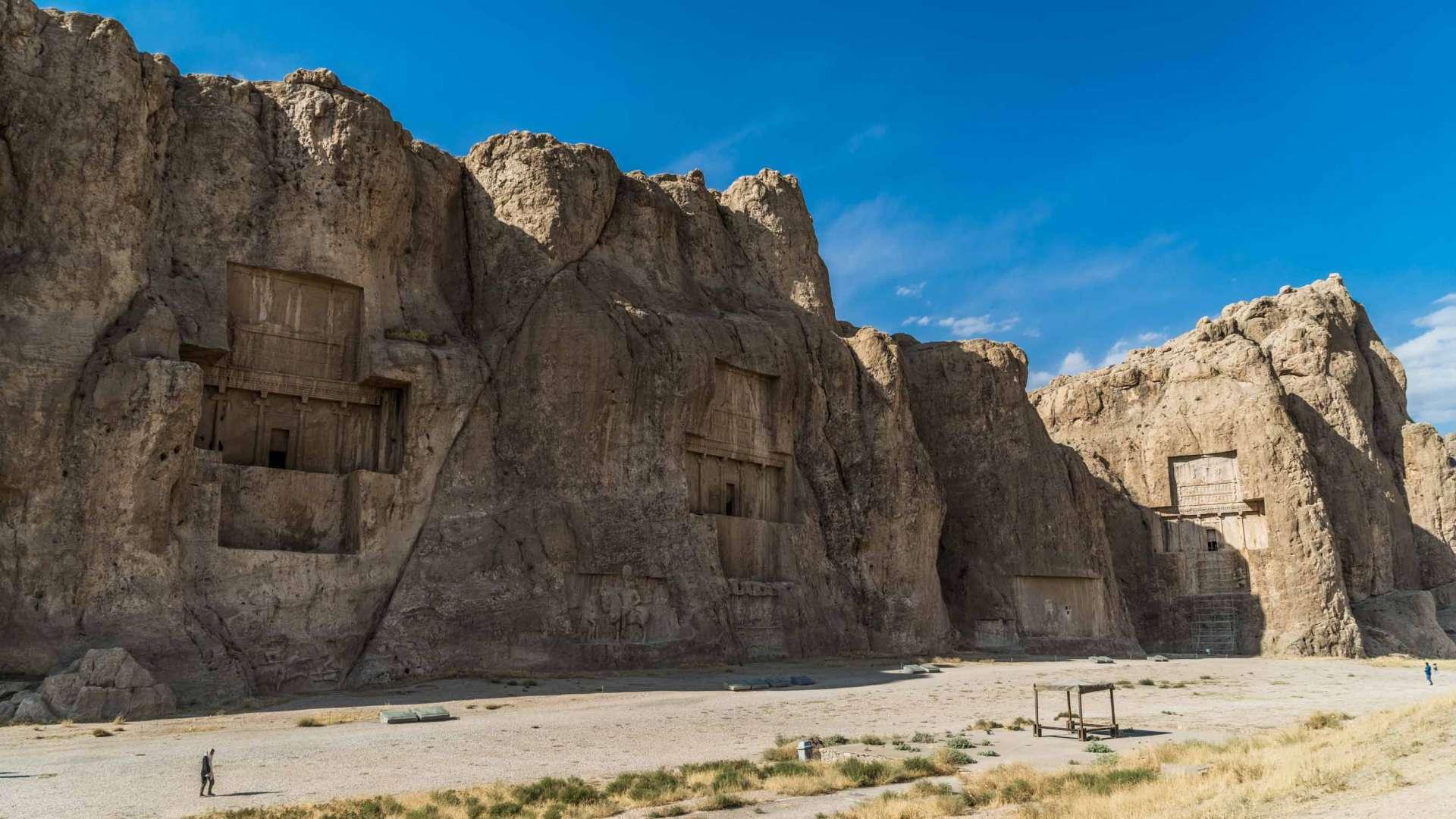 Persepolis Iran . Naqsh-e Rustam 4
