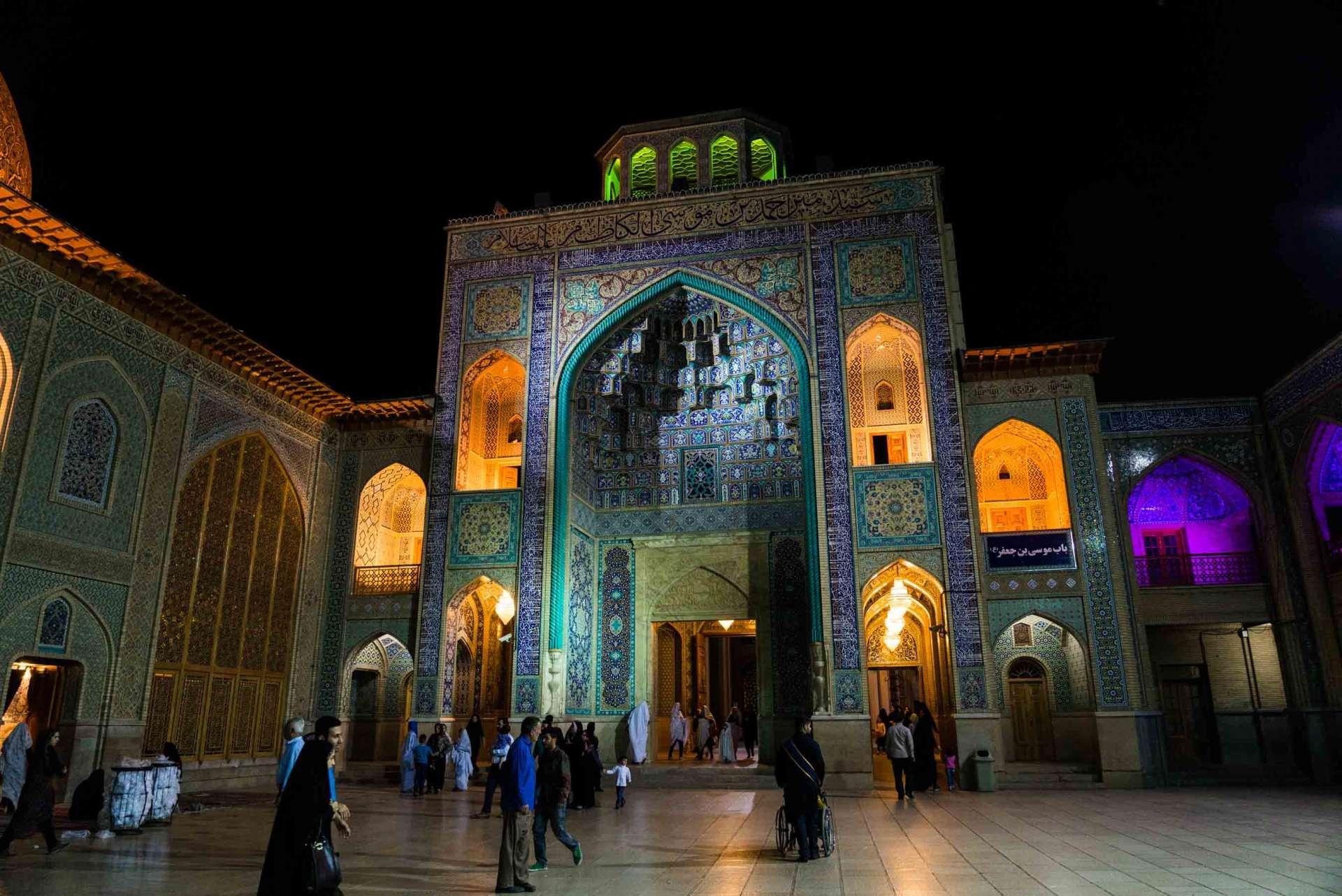 Shiraz Shah Cheragh by night 2
