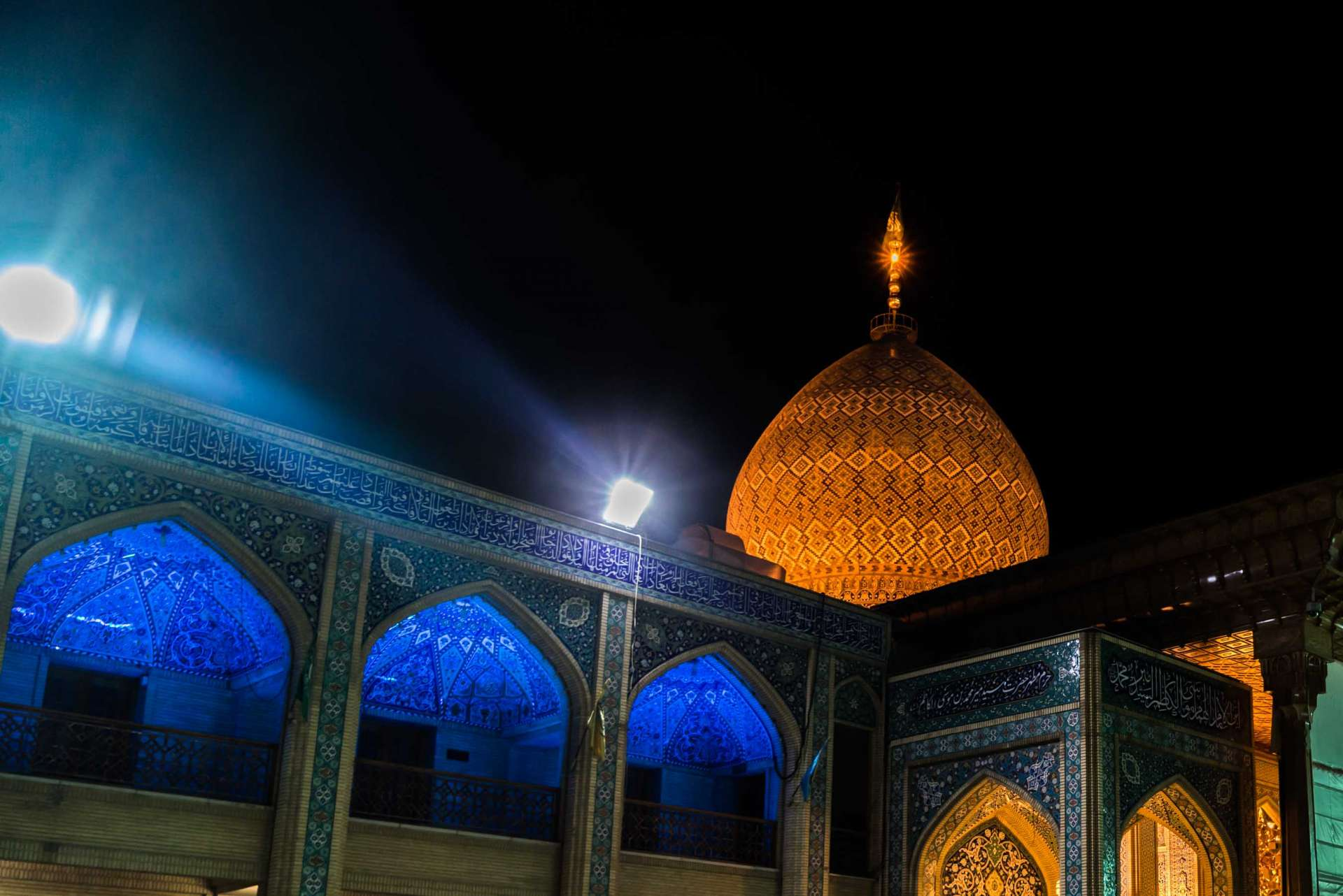 Shiraz Shah Cheragh by night 5