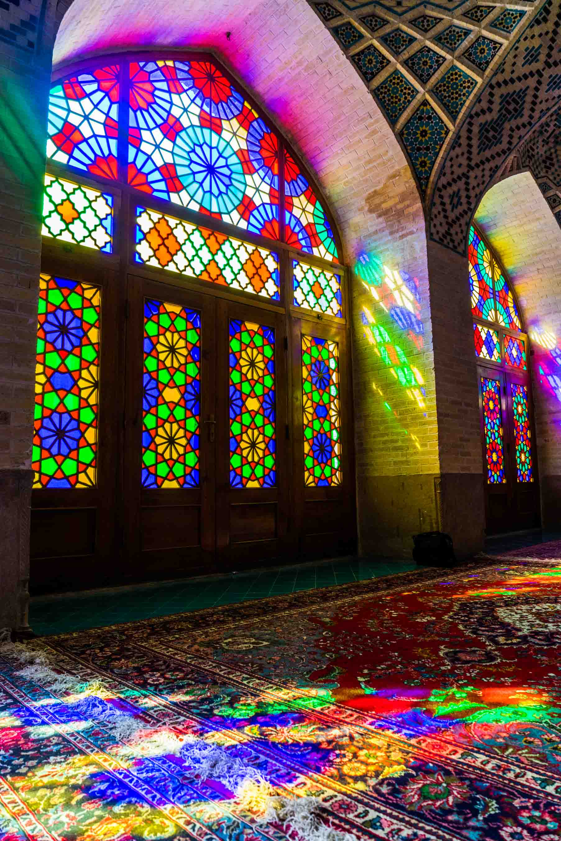 Shiraz Pink Mosque Nasir ol Molk 2