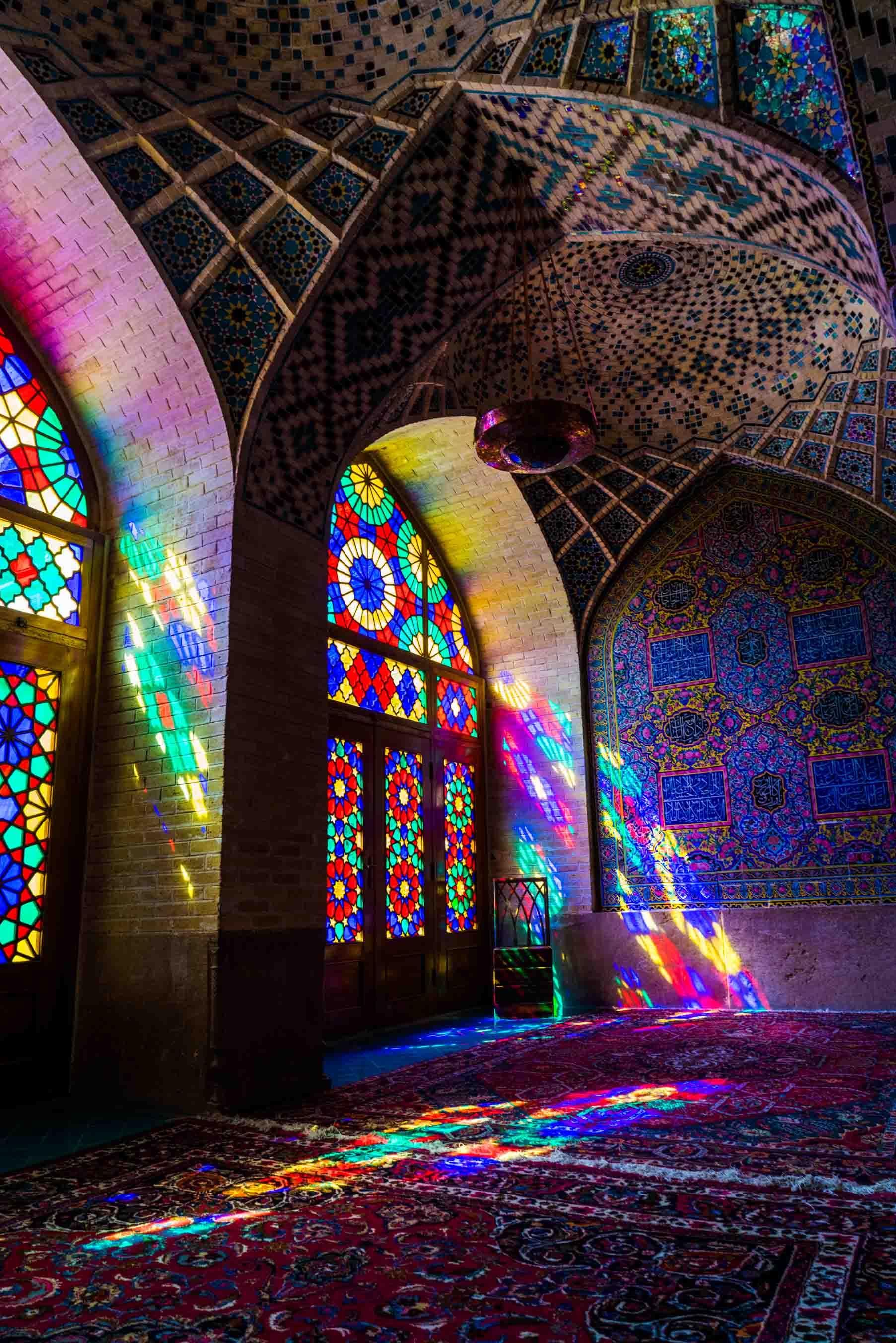 Shiraz Pink Mosque Nasir ol Molk 4