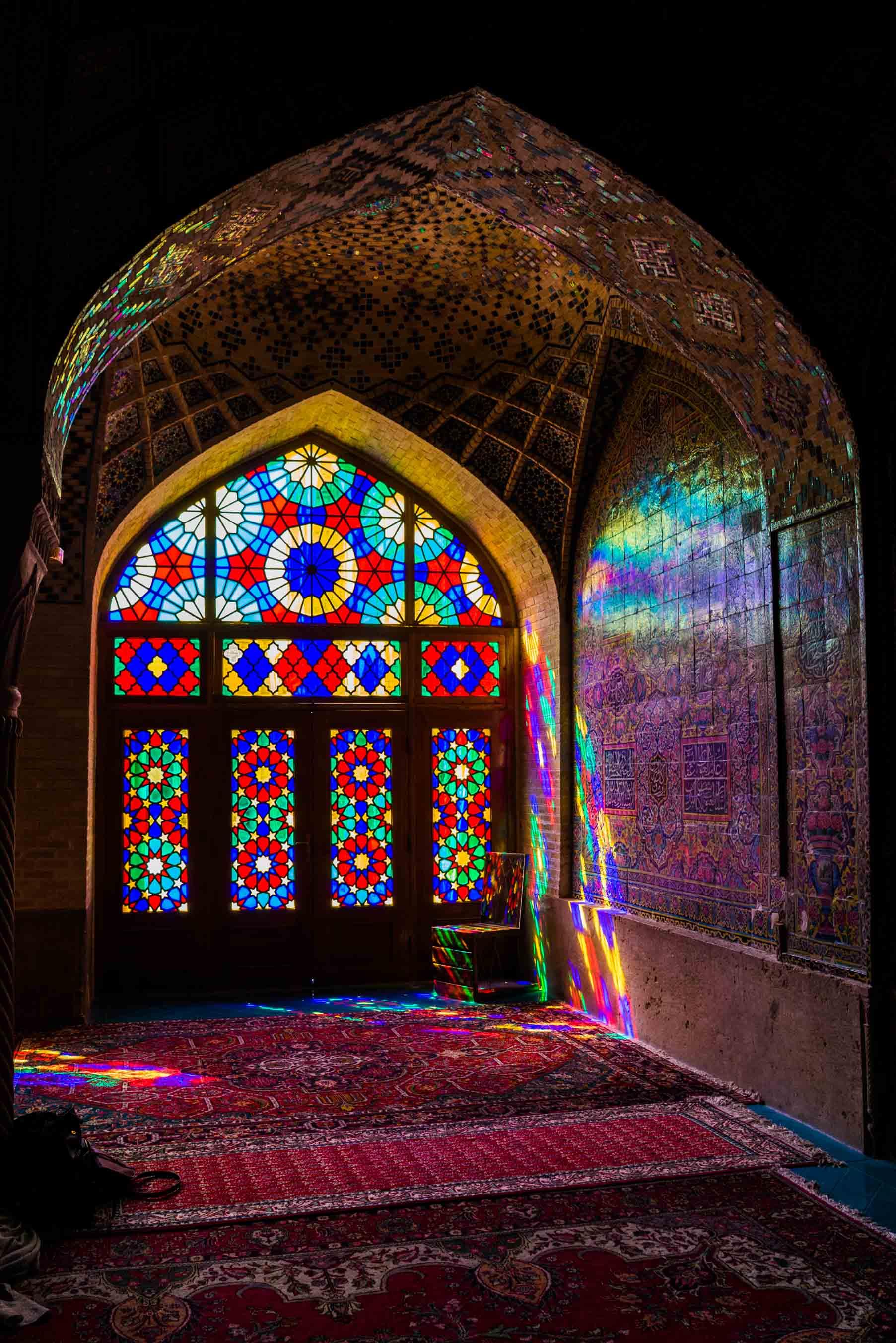 Shiraz Pink Mosque Nasir ol Molk 5