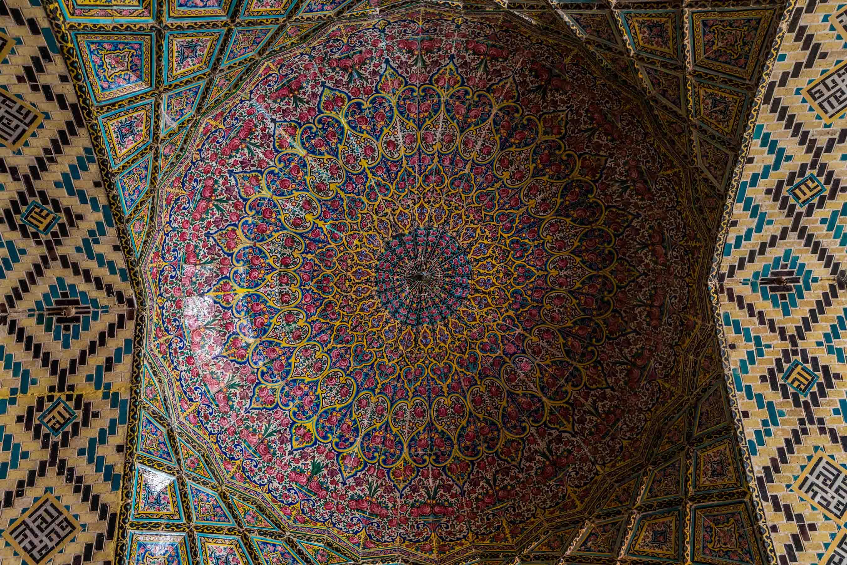 Shiraz Pink Mosque Nasir ol Molk 7