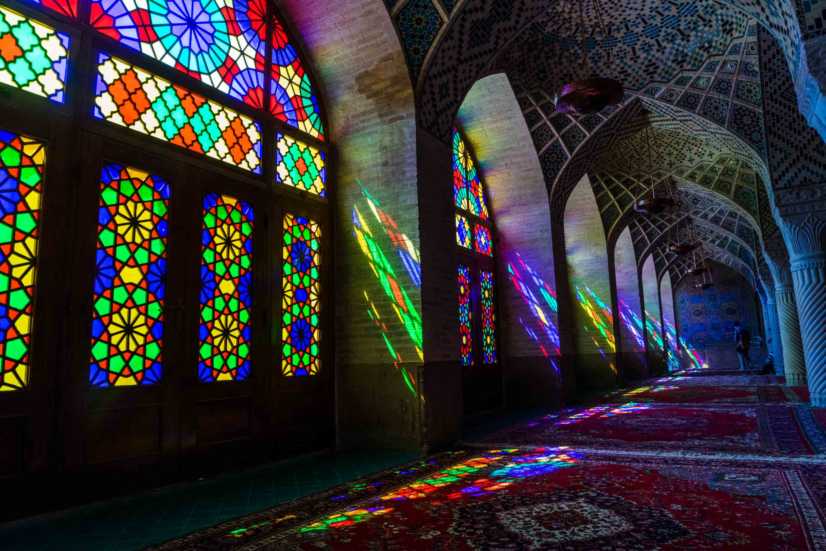 Shiraz Pink Mosque Nasir ol Molk 6