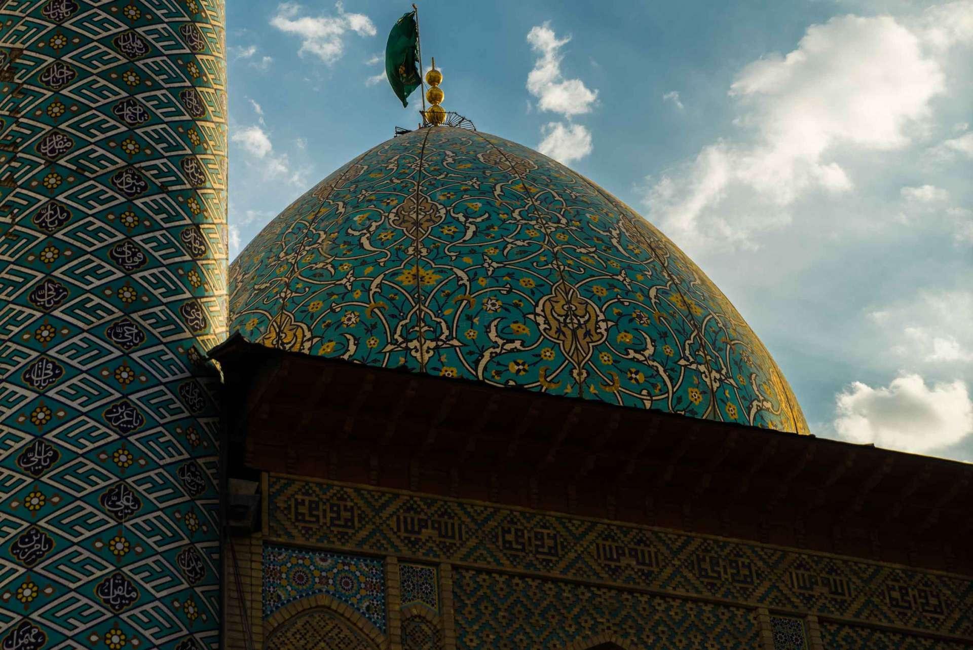 Shiraz Shah Cheragh dome - Enrico Pescantini Travel Photographer
