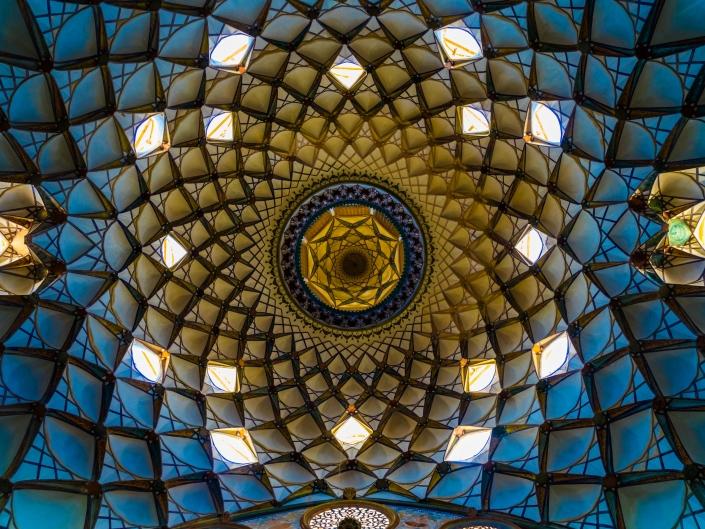 Iranian Architecture - Bourjerdi Historial House, Kashan