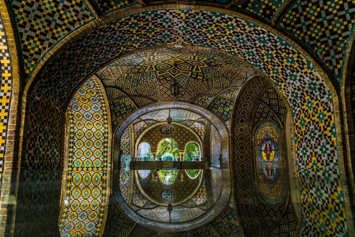 Iranian Architecture - Golestan Palace, Tehran