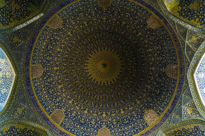 Iranian Architecture -Jame Abbasi Mosque 2, Isfahan