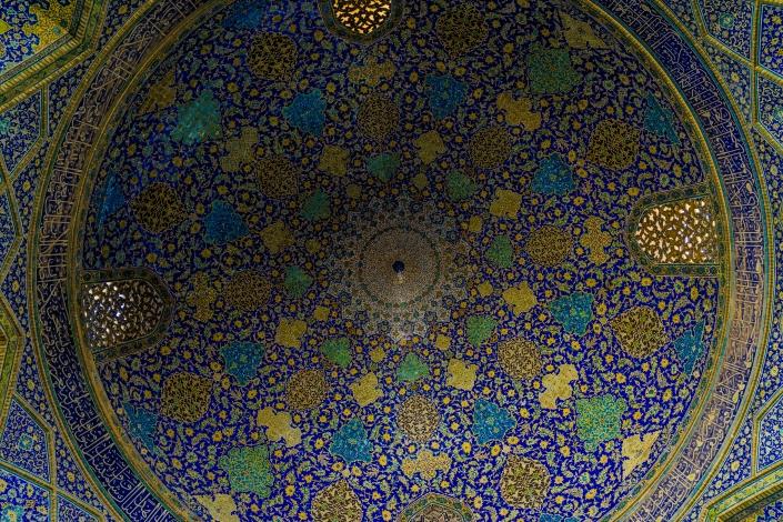 Iranian Architecture - Jame Abbasi Mosque, Isfahan