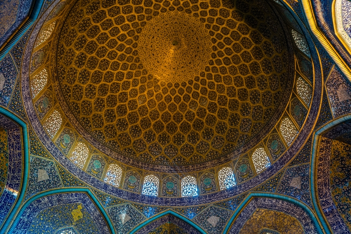 Iranian Architecture - Sheikh Lotfollah Mosque, Isfahan 3