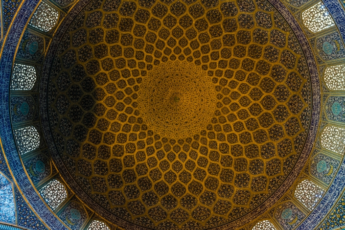 Iranian Architecture - Sheikh Lotfollah Mosque, Isfahan