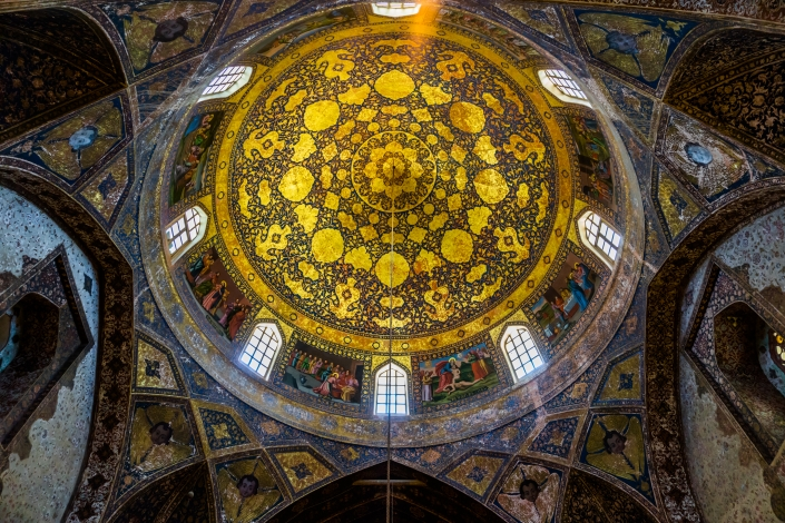 Iranian Architecture - The Church of the Saintly Sister, Isfahan