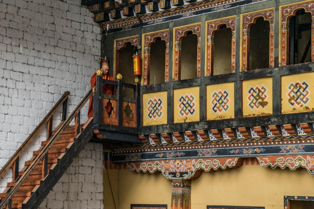 buddhist monk Bhutan Pescart Enrico Pescantini 3