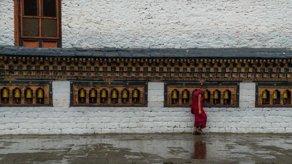 buddhist monk Bhutan Pescart Enrico Pescantini 5