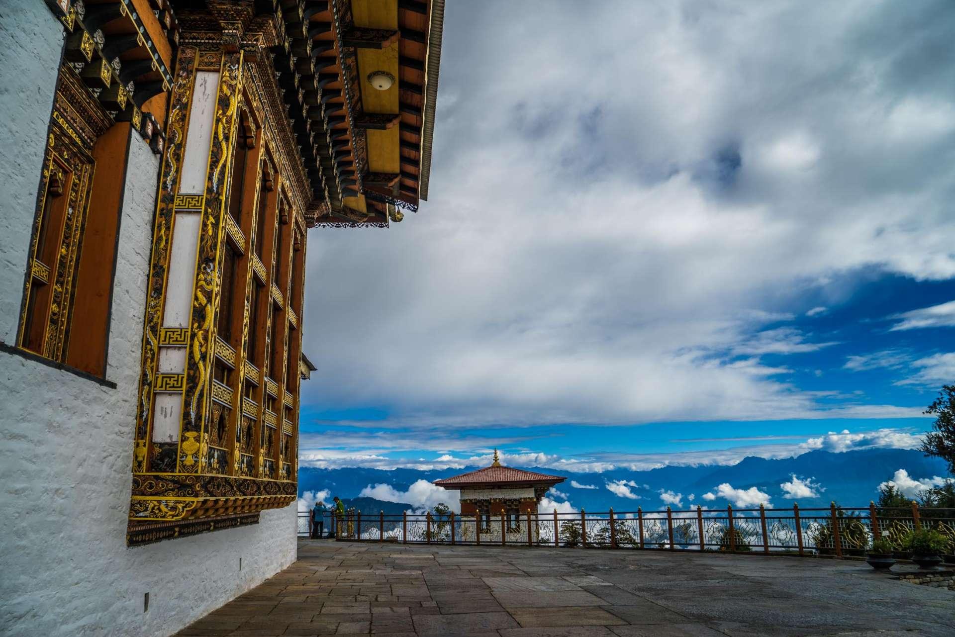 Dochula Pass view Bhutan Pescart enrico pescantini