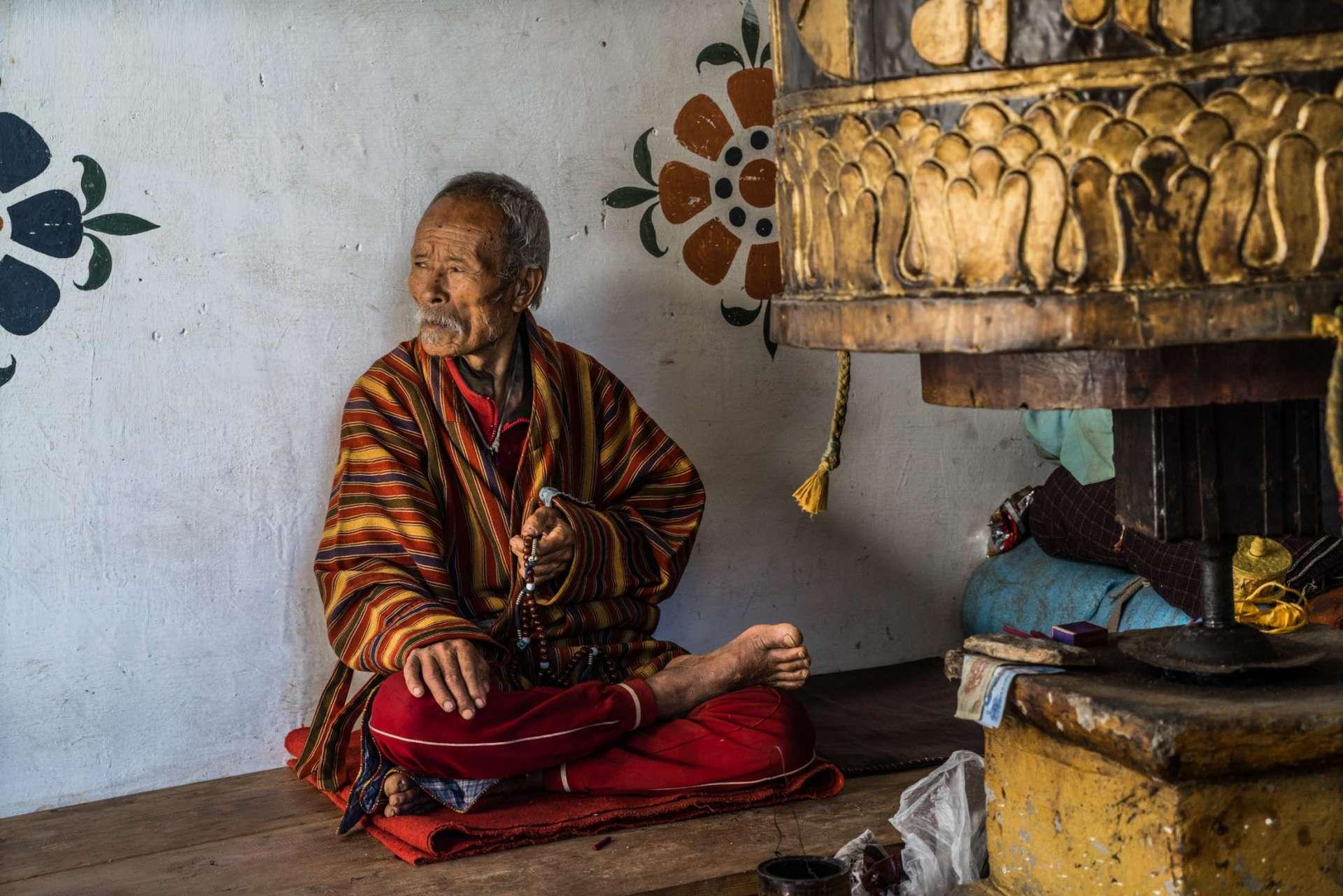 buddhist monk Bhutan Pescart Enrico Pescantini