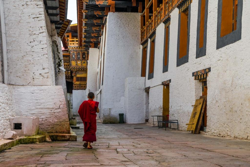 buddhist monk Bhutan Pescart Enrico Pescantini 7