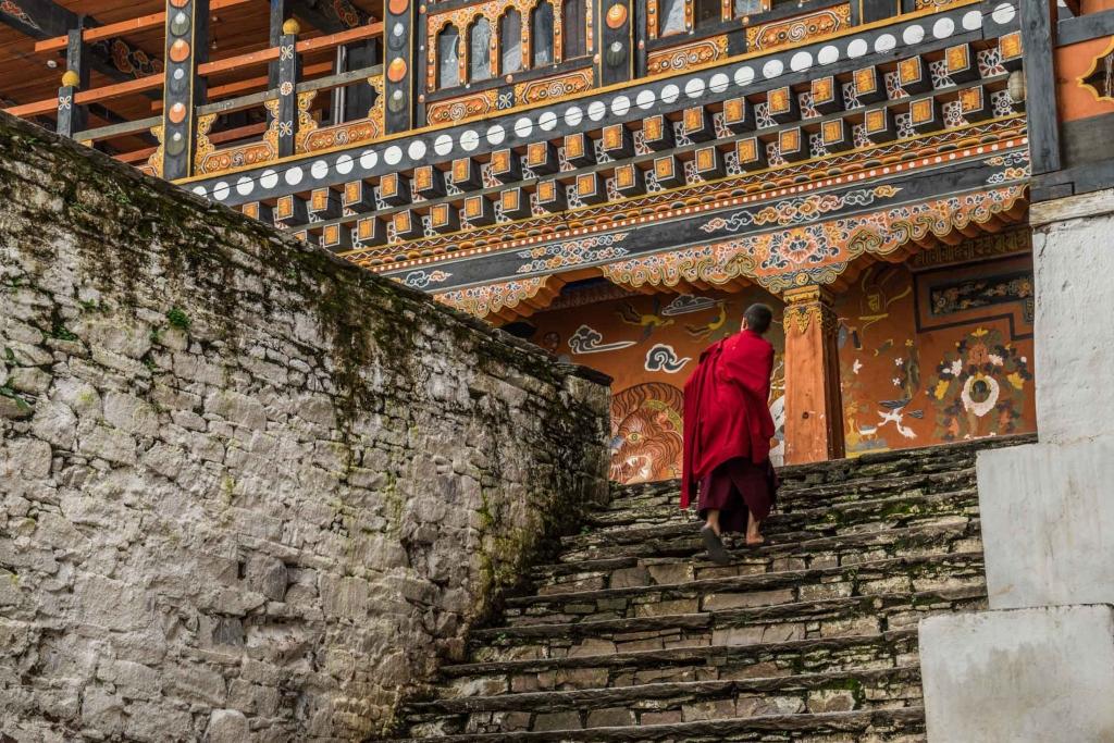 buddhist monk Bhutan Pescart Enrico Pescantini 11