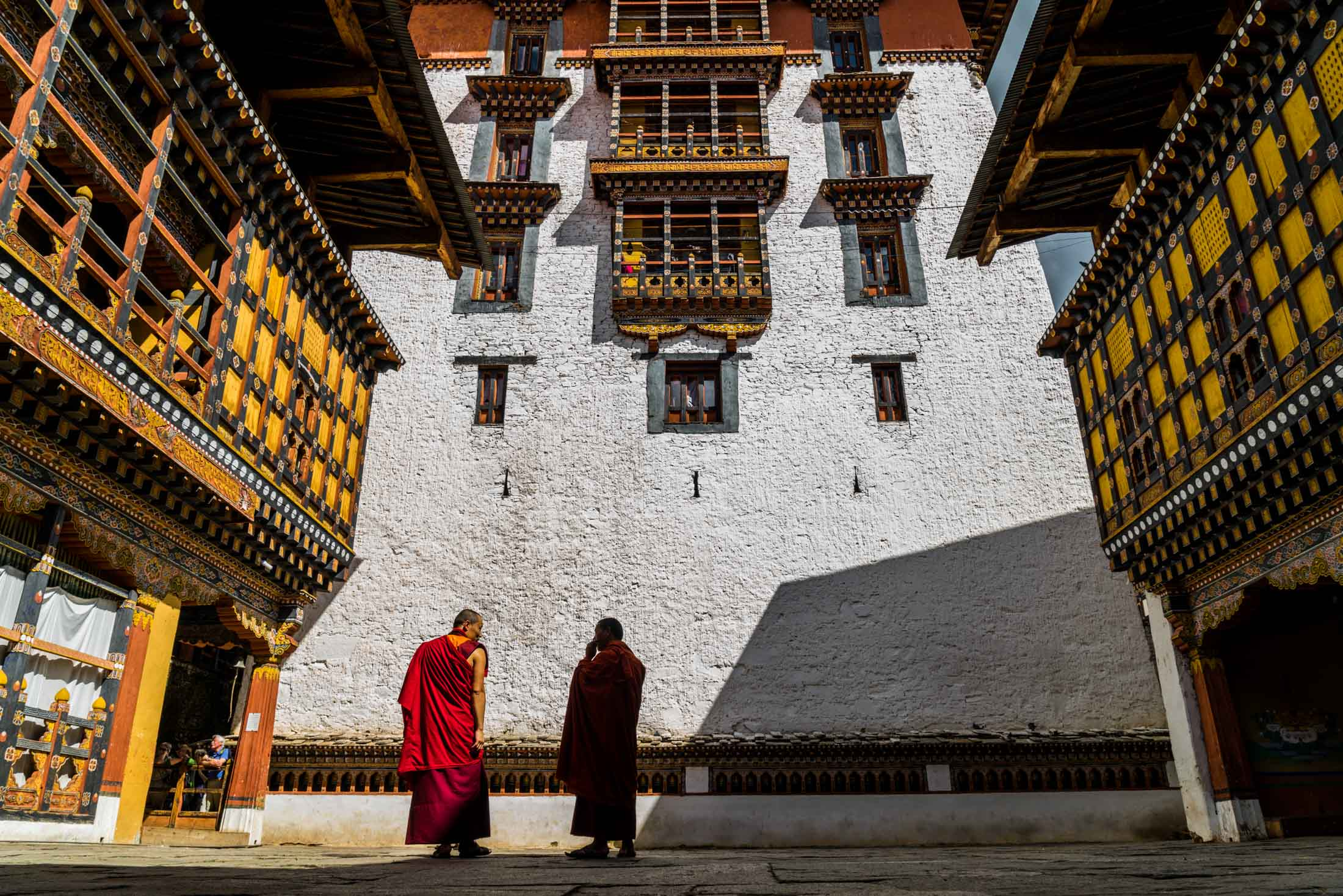 buddhist monk Bhutan Pescart Enrico Pescantini 2