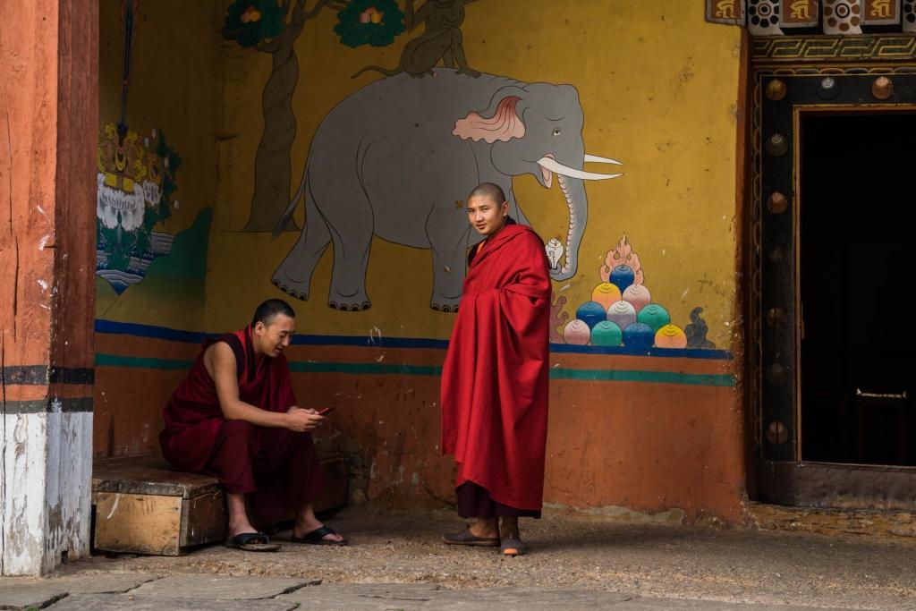 buddhist monk Bhutan Pescart Enrico Pescantini 13