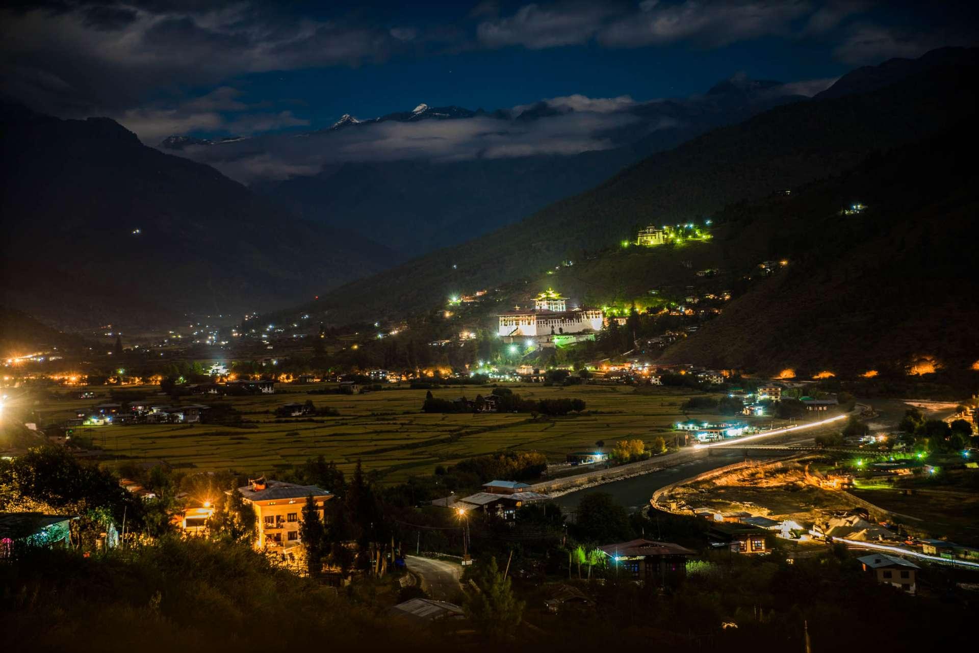 Paro Dzong Bhutan Enrico PEscantini Pescart