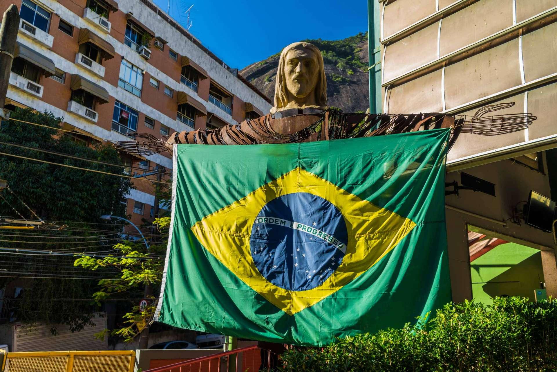 Rio de Janeiro Pescart Enrico Pescantini brazilian flag