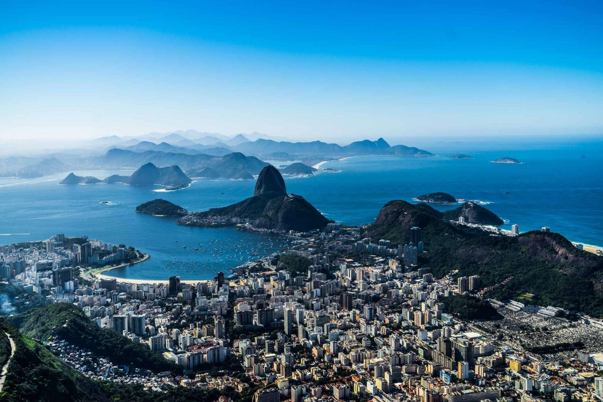 Rio de Janeiro Pescart Enrico Pescantini Christ the Redeemer view