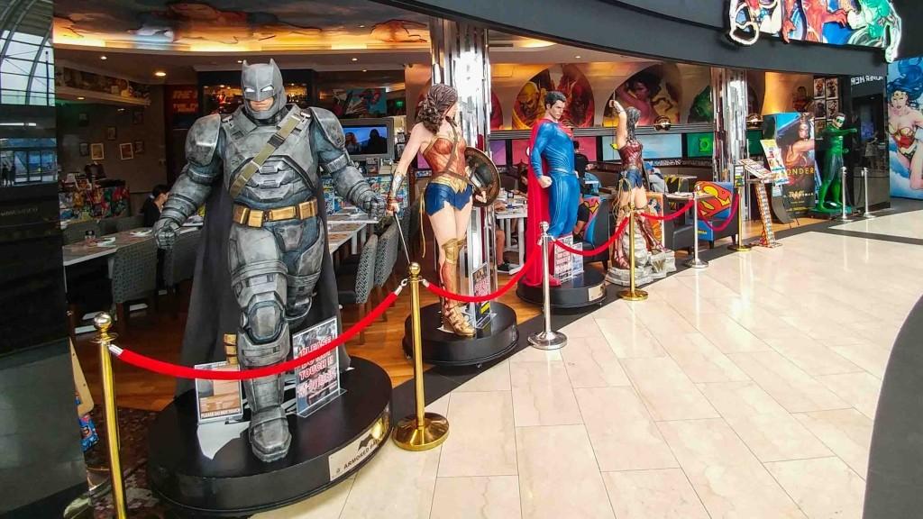Singapore Pescart Enrico Pescantini DC Super Heroes Cafe 3