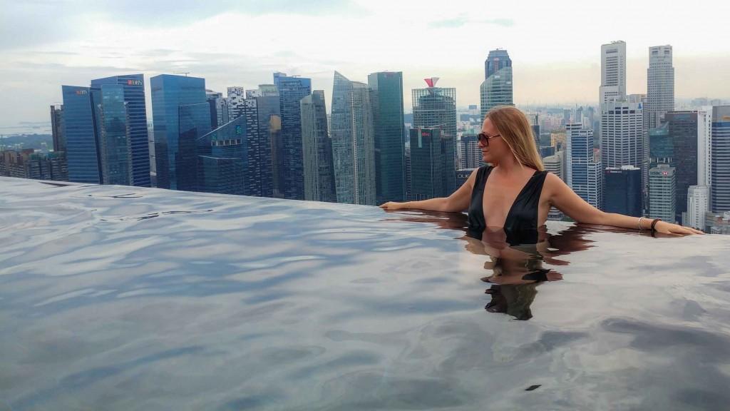 Singapore Pescart Enrico Pescantini Marina Bay Sands Hotel Infinity Pool