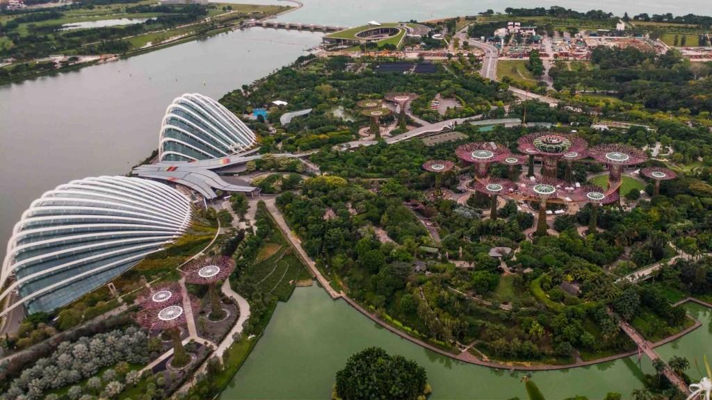 Singapore Pescart Enrico Pescantini Gardens by the Bay by day