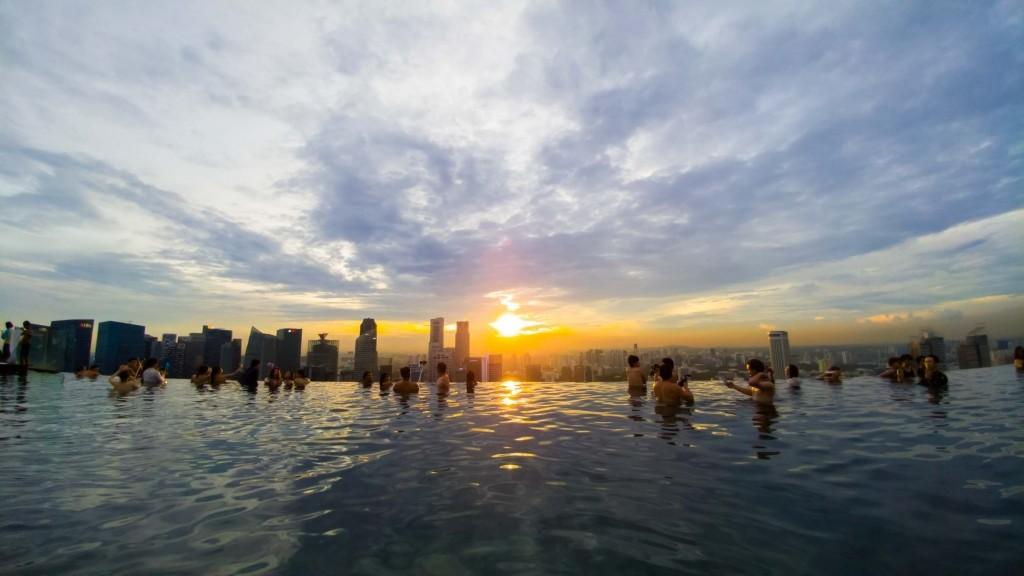 Singapore Pescart Enrico Pescantini Marina Bay Sands Hotel Infinity Pool 4