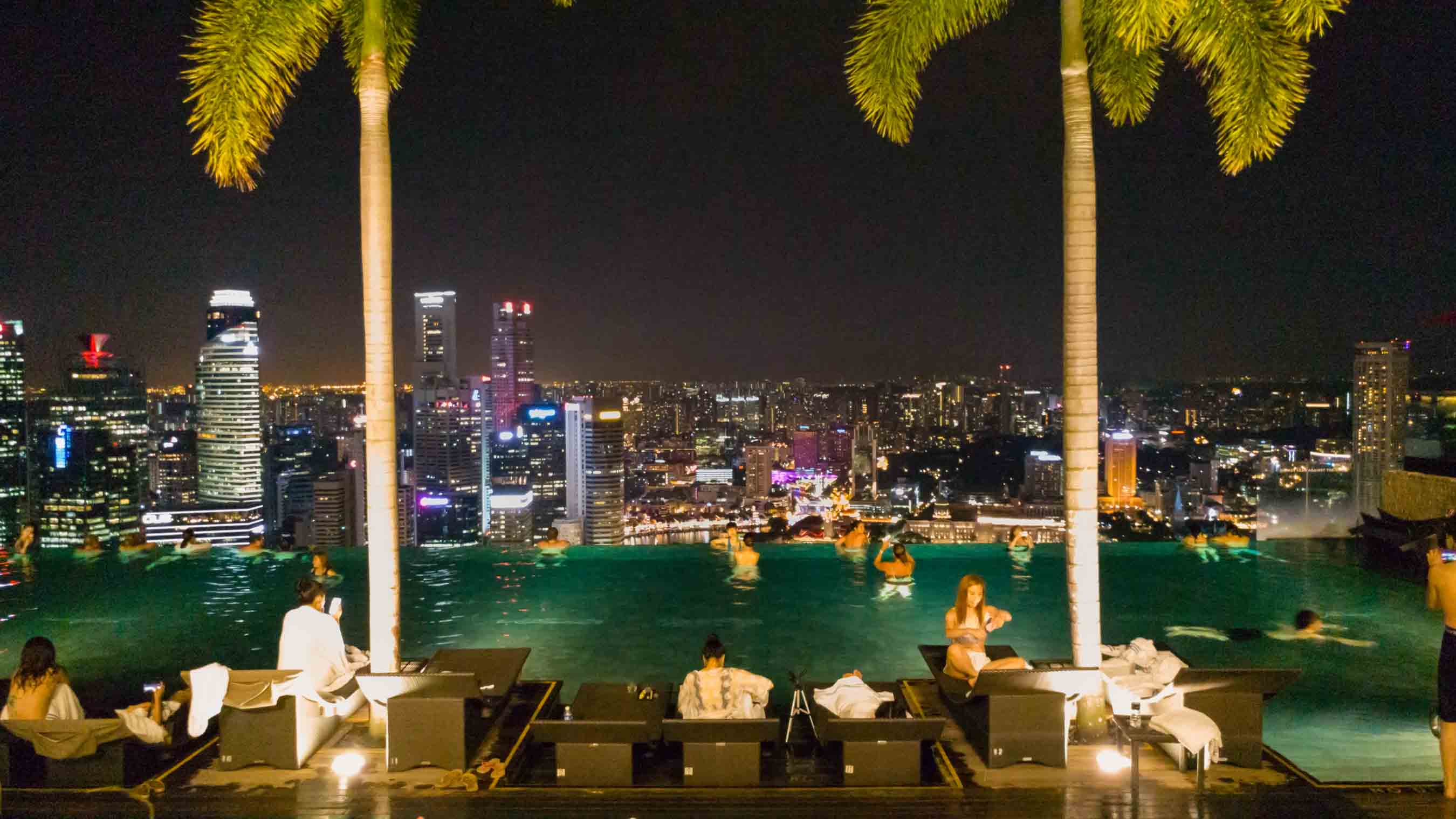 Singapore Pescart Enrico Pescantini Marina Bay Sands Hotel Infinity Pool 2