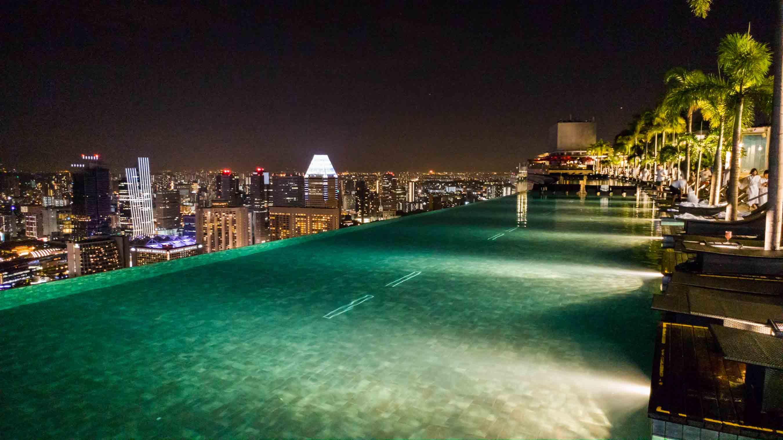 Singapore Pescart Enrico Pescantini Marina Bay Sands Hotel Infinity Pool 3